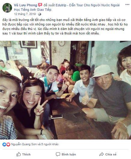 Vu Luu Phong Đánh giá trung tâm anh ngữ Edutrip