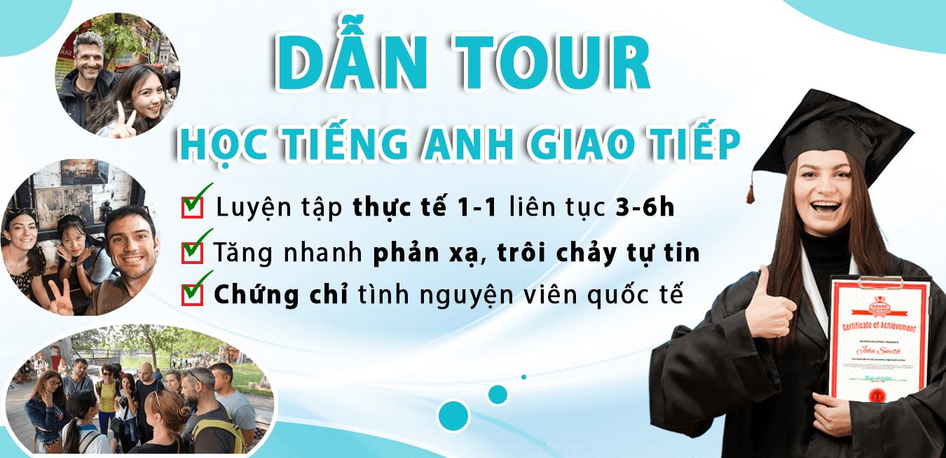 Khoa Dan Tour hoc tieng anh giao tiep Advanced - Edutrip