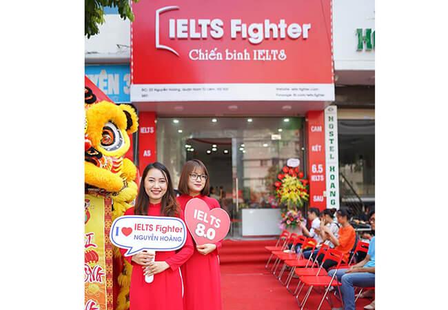 Ielts Fighter top trung tam ielts gan ftu ngoai thuong