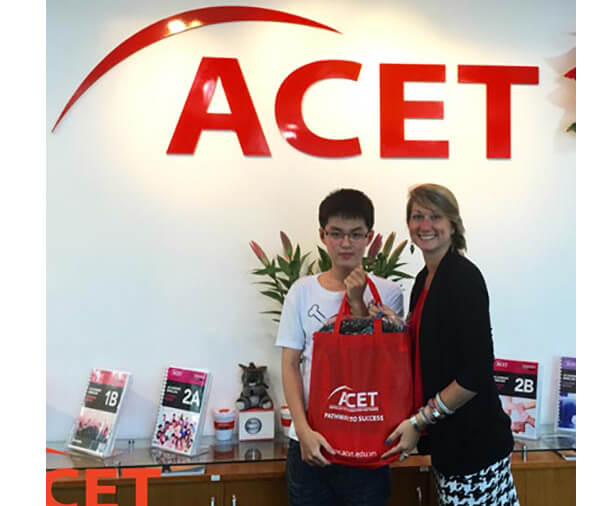 The Acet - top trung tam ielts gan ftu ngoai thuong