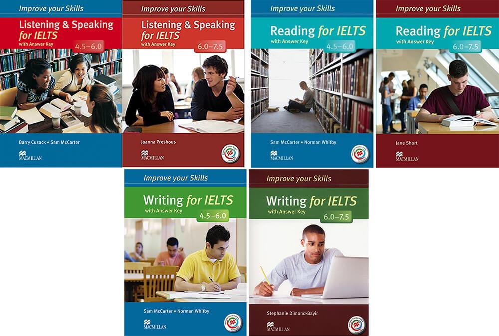 Improve Your Skills Reading, Listening, Writing, Speaking For IELTS 4.5-6.0 vs 6.0-7