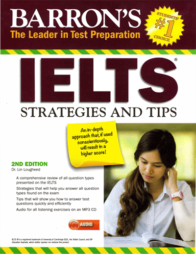 Sách Barron IELTS Strategies and Tips
