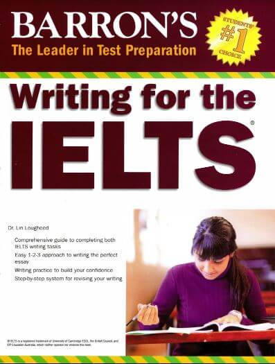 Sách Barrons Writing for the IELTS