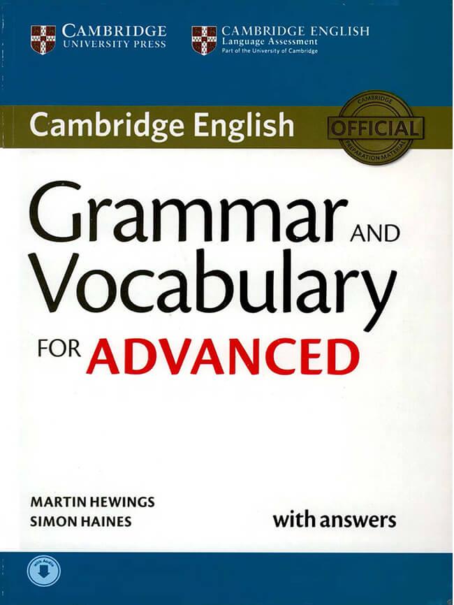 Sách Cambridge Grammar And Vocabulary Advanced Top 20 Sách Tự Học Ielts Hiệu Quả Nhất Từ Mất Gốc đến 9.0