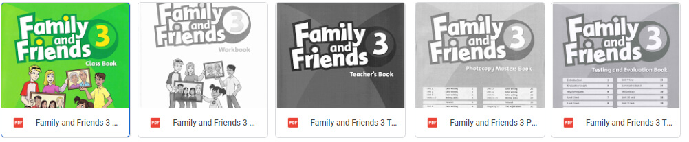 Family and friend level 3