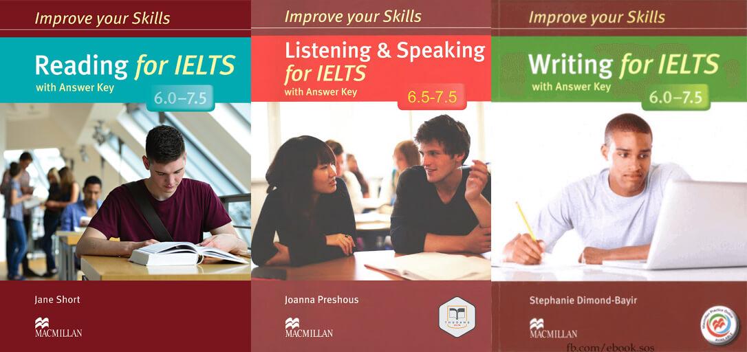 Improve Your Skill For IELTS 6.0 - 7.5 Sách - Học tiếng Anh giao tiếp theo  phương pháp dẫn Tours - Tiếng Anh giao tiếp Edutrip