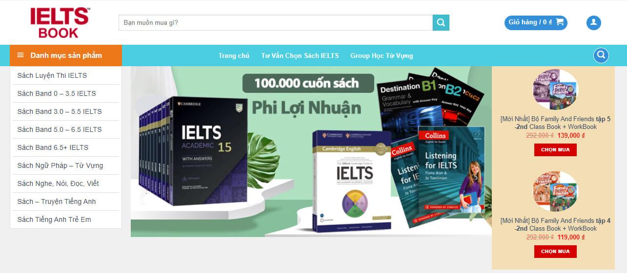 Trang Web Học Từ Vựng IELTS Miễn phí Siêu Tốc