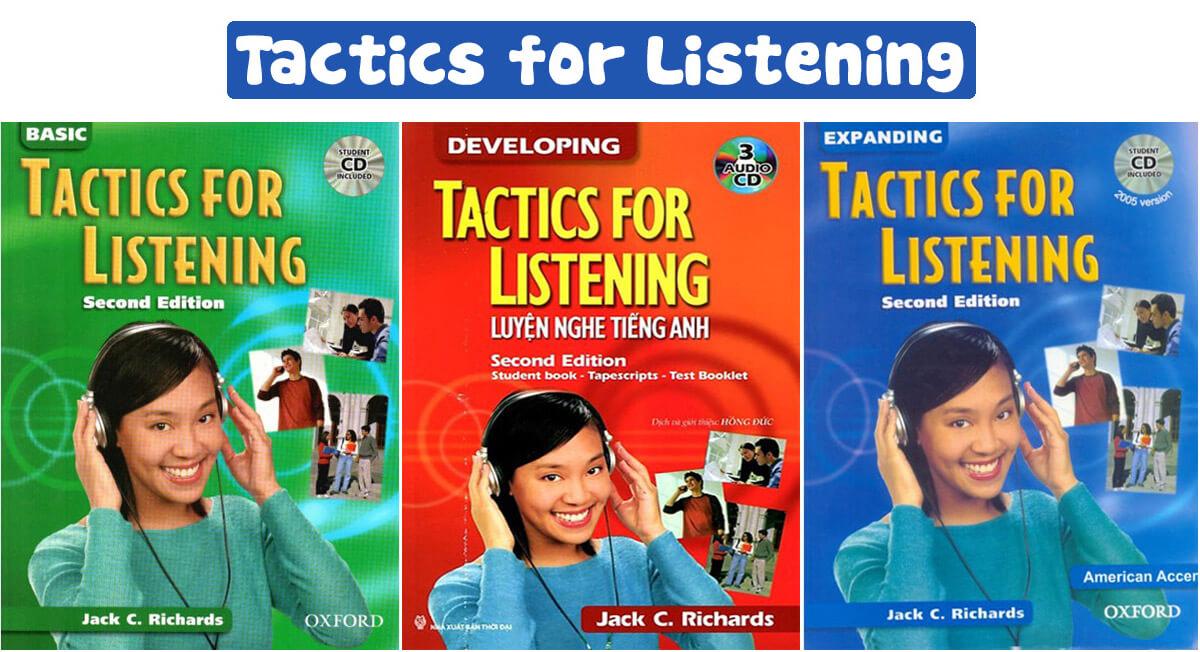 Mua Sách Tactics For Listening Ở Đâu Tốt Giá Rẻ?