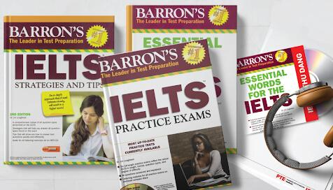 Mua Sách Barron IELTS ở đâu tốt giá rẻ?