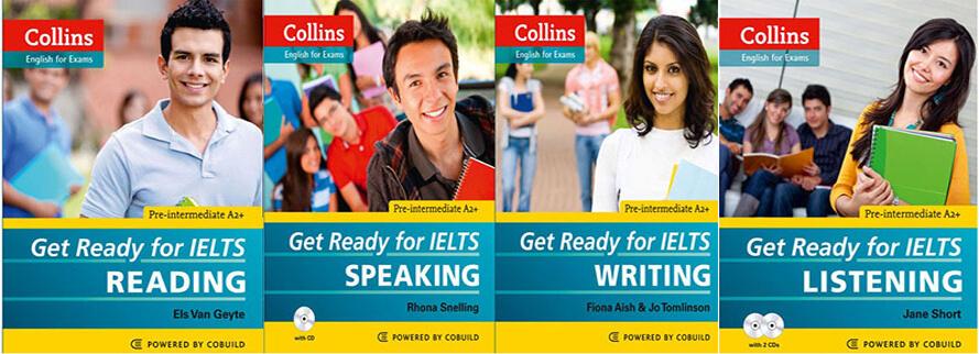 Bộ Sách Get Ready For IELTS - Lộ Trình Tự Học Từ 0 Lên IELTS 6.5 và 7.0 Cho Người Mới Bắt Đầu