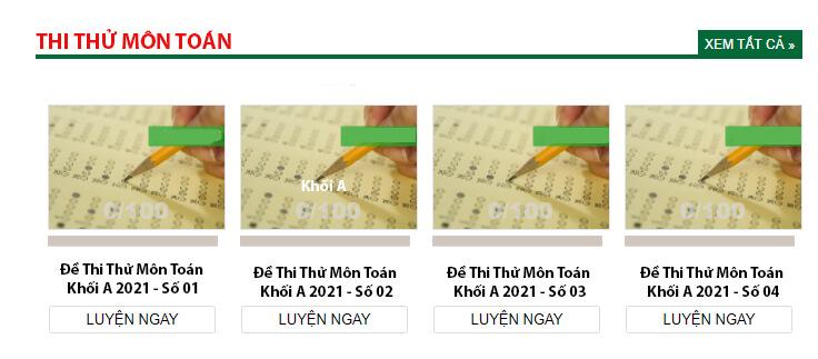 onthi247.com Website luyện đề thi Đại Học Khối A