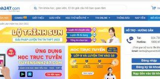 Website làm đề thi Đại Học Khối B 1 2 3 4.... Online Tốt Nhất